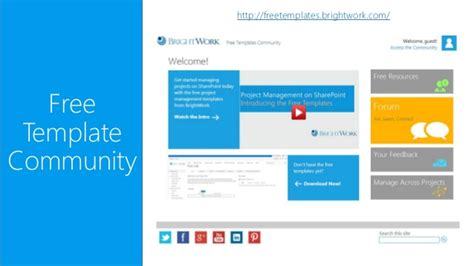 free project management template for sharepoint from