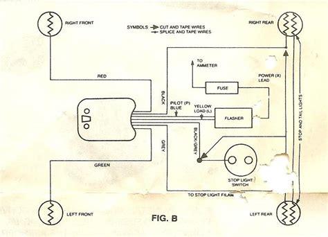 basic turn signal wiring diagram wiring diagram schemes