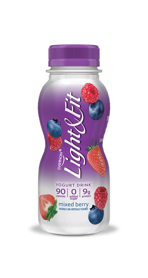 dannon light and fit yogurt drink yogurt drinks light fit 174