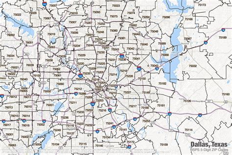 texas zipcode map dallas texas zip code map my