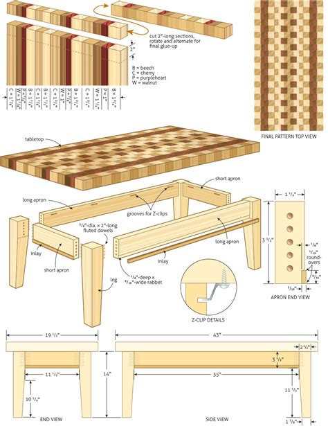 workshop tables plans plans diy free coffee table
