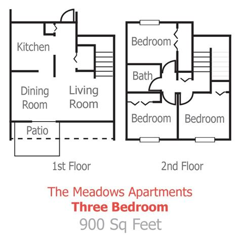 3 bedroom apartment floor plans pricing the laurels floor plans pricing the meadows apartments