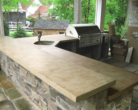 23 best concrete bbq s outdoor bar tops images on