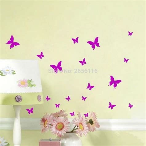 butterfly wall stickers for bedrooms butterfly wall stickers diy wall decals vinyl mural wall