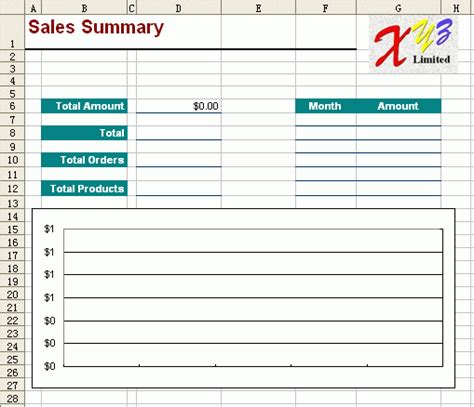 free excel report template monthly sales 2
