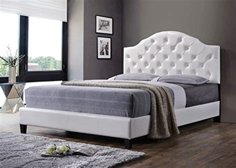 white headboard and footboard queen luxury tufted queen bed frame with headboard and footboard