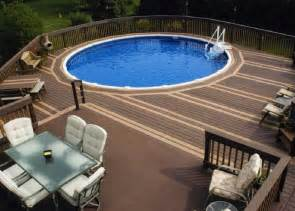 Backyard Pools With Deck Top Five Inground Pool Deck Ideas For Great Decoration And