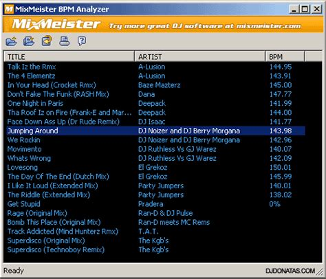 mp3 bpm converter download how to bpm analyse all of your mp3s for free digital dj tips