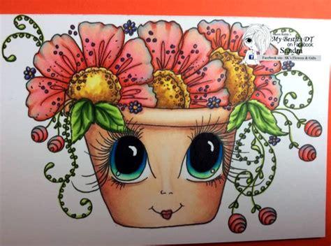 my besties flower petal pots coloring book books my besties adorable flower petal pots