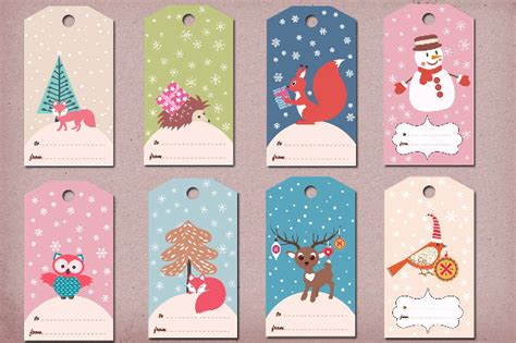 printable winter gift tags 49 tag templates free psd ai eps vector format download