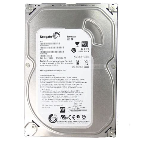 Harddisk Barracuda 500gb cheap new seagate barracuda 500gb 7200rpm sata3 3 5