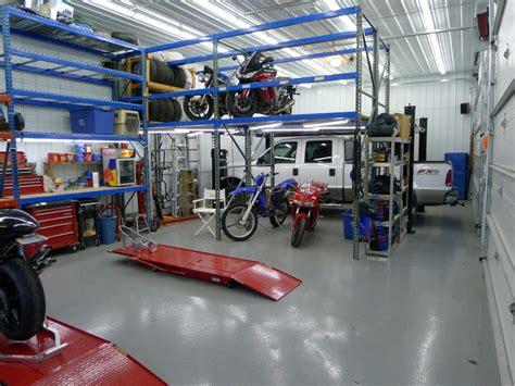 motorcycle workshop layout ideas metal building loft design ideas 16 eve s the garage