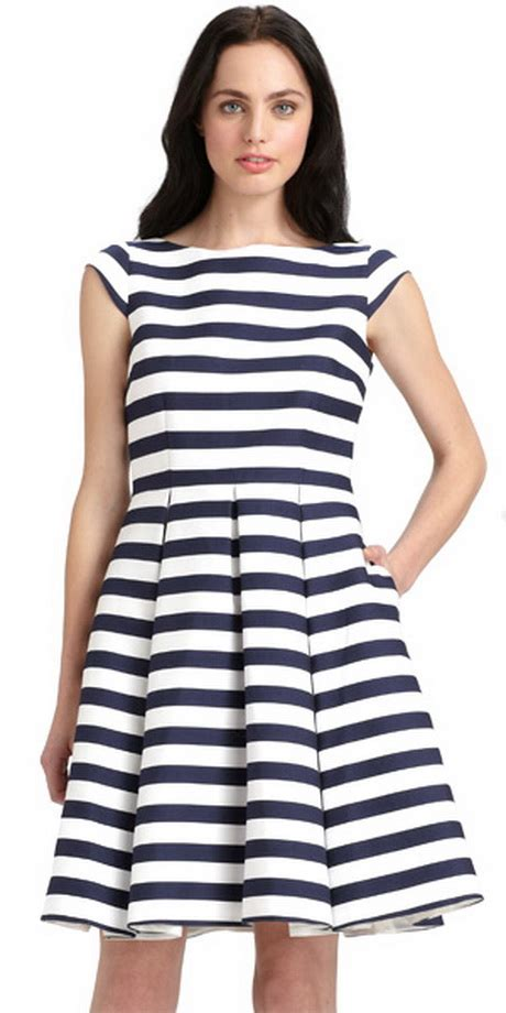 blue and white striped dresser blue and white striped dress