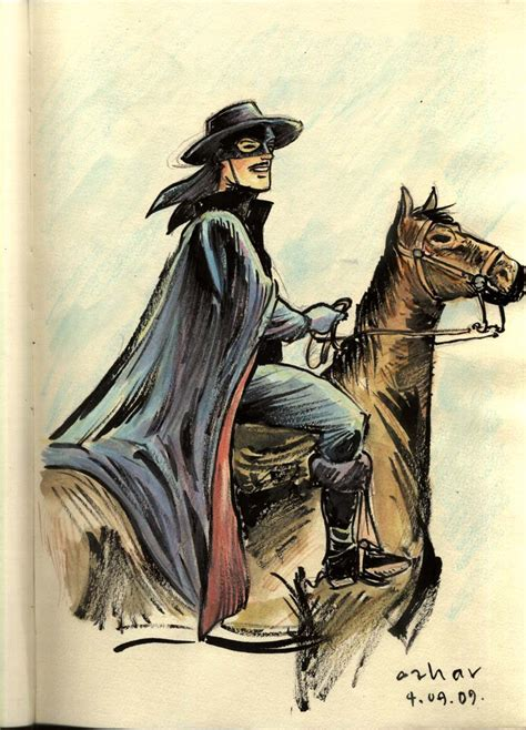 zorro painting zorro after alex toth by azharmaa on deviantart