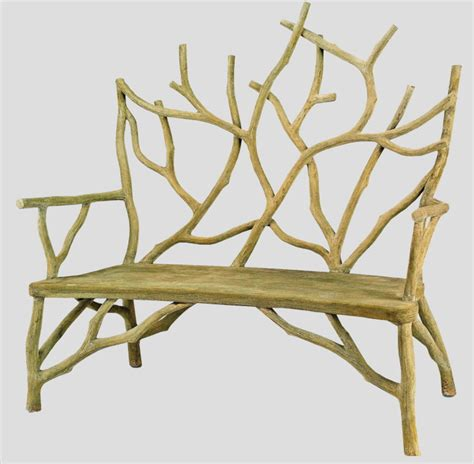 rivendell faux bois bench n henfeathers