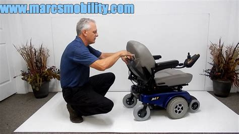 pride mobility jet 7 power chair by marc s mobility blue