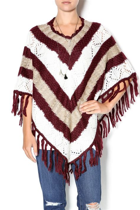 Double Zero Sweater Poncho from Manhattan by Dor L'Dor