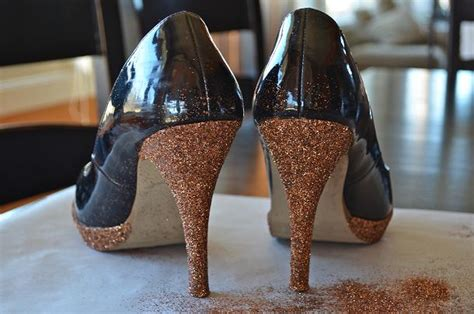 decorar zapatillas con glitter decorar zapatos con glitter ropa diy
