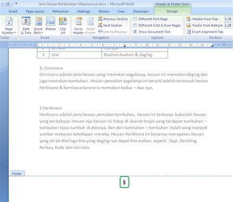 format halaman word cara melakukan format halaman dokumen kerja microsoft word