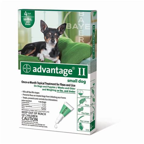 advantage ii for dogs advantage ii topical solution bayer dogs puppies qc supply