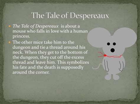 the tale of despereaux book report ppt the fates modern day allusions powerpoint