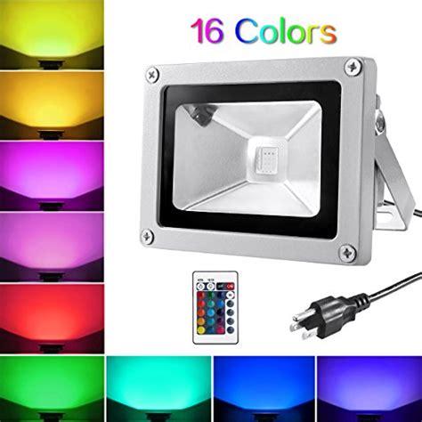warmoon led flood light warmoon led flood light 10w rgbw outdoor spotlight ip65