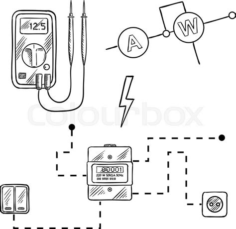wiring diagram for voltmeter voltmeter switch diagram