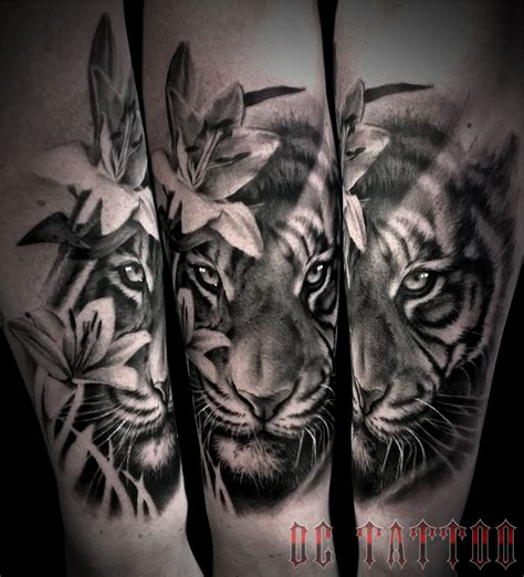 tiger tattoo by disse86 on deviantart
