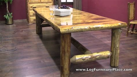 great log dining table 63 in modern home decor inspiration