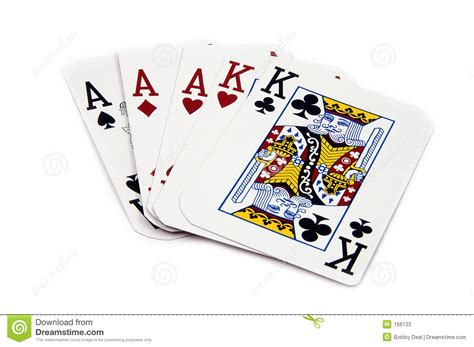 full house cards full house aces stock photos image 166133