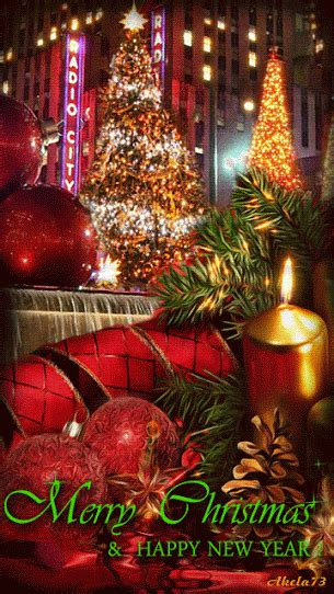 merry christmas   happy  year gif christmas lights  merry christmas christmas
