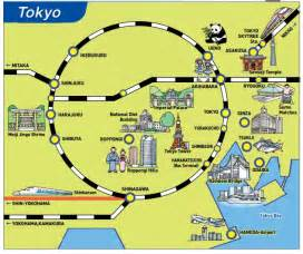 tokyo map tourist attractions tokyo tri huynh