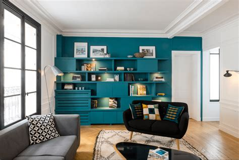teal accent wall 16 living rooms with accent walls
