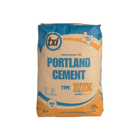 shop txi 92 1 2 lb bag type i ii portland cement at lowes