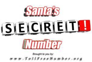 1 800 Vanity Numbers Santa S Phone Number