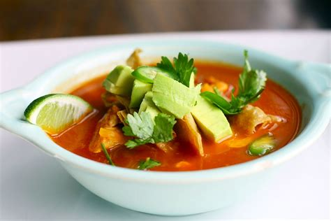 Chicken Tortilla Soup Simple Comfort Food Recipes That
