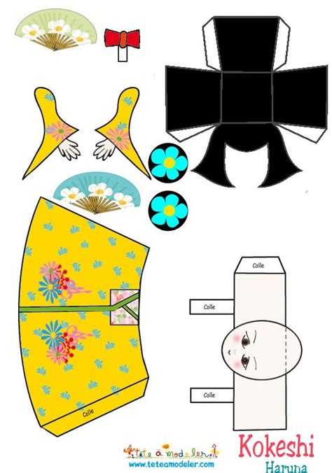Papercraft Doll - 50 best hina matsuri day japan images on