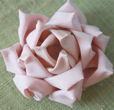 how to make flower how to make a mayumi rose fabric flower tutorial jpg