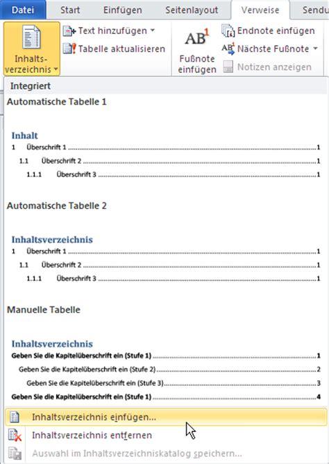Muster Word Inhaltsverzeichnis Diplomarbeit Muster Word