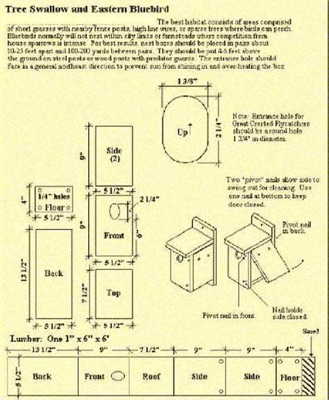 blue bird house hole size bluebird houses bluebird habitat free bluebird house plan