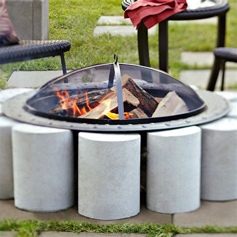 diy concrete pit ideas diy pit on concrete patio fireplace design ideas