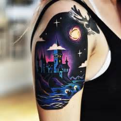 Harry potter tattoo by david cote