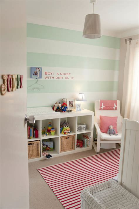 15 nurseries with stripes