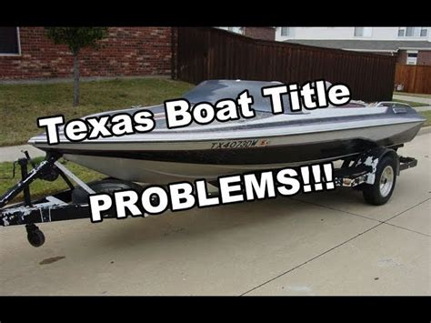 texas boat registration without title free wooden dory boat plans buying a boat without a title