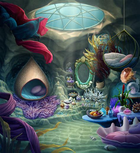Unicorn Bedroom mermaid room by tamiart on deviantart