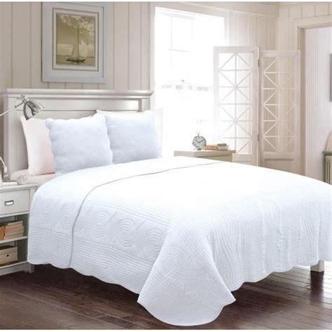 couvre lit 1 place couvre lit blanc 1 place achat vente jet 233 e de lit