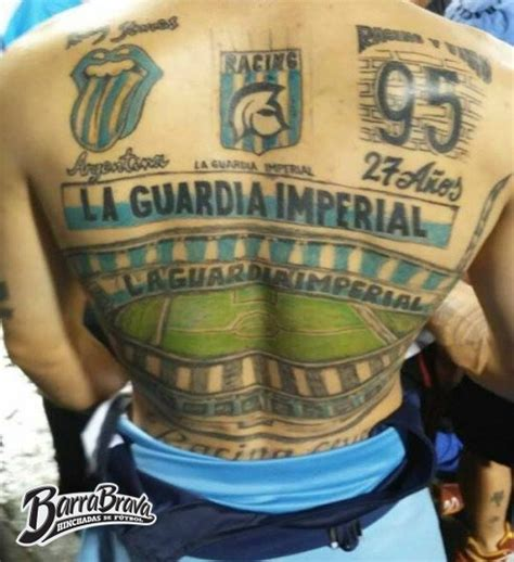 tattoos tatuajes la guardia imperial racing club
