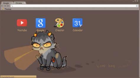 karkat vantas google chrome theme version 2 by karkat chrome themes themebeta