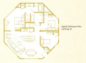 treehouse villa floor plan disney treehouse villa floor plan gurus floor