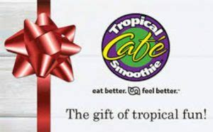 Tropical Smoothie Gift Card - tropical smoothie caf 233 25 gift card giveaway night helper